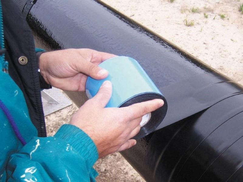 فروش نوار پوشش لوله عایق راپینگ لوله دو لایه سه لایه دنسو آلمان، شرکت ایبک