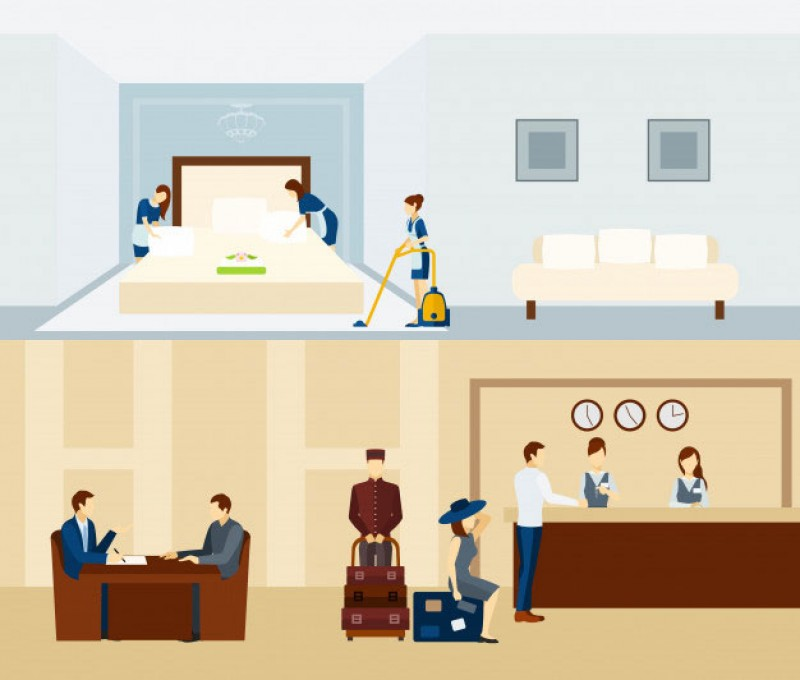 معرفی مشاغل هتلداری